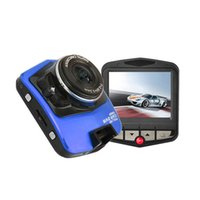 Wholesale 2 Car Dash Camera Car DVR Recorder Camera System Black Box GT300 Night Virsion Video Recorder Fast Express Shipping