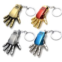 Wholesale New Arrival Marvel Super Hero Keychain Key Ring Iron Man Hands Avengers Alloy Key Chain