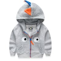 baby leather coats - Leisure Winter Kids Coats For Boys Dinasaurs Hoodies Outwear For Children Jackets Baby Leather Jacket