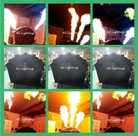 Wholesale New Arrival High Power Five Heads Flame Projector Spray Fire Machine For Stage Fire Effect