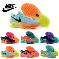 Wholesale Nike Women s FLYKNIT Air Max Running Shoes Original Womens running shoes Cheap FLYKNIT Air Max Best Tennis Jogging Shoes
