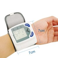 Wholesale Quality Guaranteed CE and FDA Approved New Wrist Cuff LCD Digital Blood Pressure Pulse Monitor