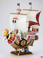 Anime POP de Una Pieza de la Figura de Acción 1 pcs 28cm Thousand Sunny Barco barco barco Pirata Modelo de PVC Figura de Acción de Juguetes Modelo de la colección de