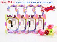 Wholesale R SIM RSIM9 plus RSIM9 RSIM9 plus R SIM9 nano cloud Official unlock sim card tray holder for iphone s c s fit iOS5 OTH015