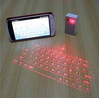 Wholesale Original Showme Mini Wireless Laser Projection Virtual Bluetooth Laser Keyboard For Android IOS phones Tablet Laptop