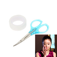 Wholesale Hot Sale Breathable Eyelid Tape Women Invisible Double Eyelid Tape Sticker Eyelid Roll with Scissor Eyelid Tools