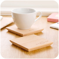wooden coaster - original wooden coasters IKEA high temperature coaster Coffee coasters insulation pad bowl pad mat table mat