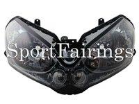 Wholesale Headlight Assembly Fit Kawasaki ZG1400 ZG Year Sportbike Motorcycle Headlamp Clear Lens New