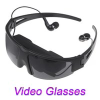 Wholesale New Arrival quot Virtual Wide Screen Digital Video Glasses Eyewear Mobile Private Cinema Theater