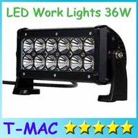 Wholesale X10 Waterproof IP67 inch W offroad LED Work Light Bar truck SUV jeep boat working lamps bulbs LEDs off road driving lights bar