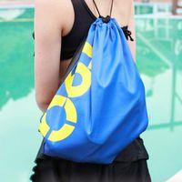 Wholesale Swimming Drawstring Beach Bag Sport Gym Swim Dance Waterproof Backpack Duffle Colors