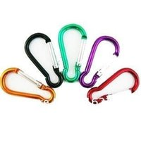 Wholesale wholesale20pcs Carabiner Clip Water Bottle Holder Camping Snap hook clip on outdoor C044