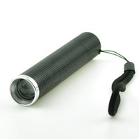 Wholesale Ultra Bright led lanterna W LED Flashlight Focus Zoomable flash Light Lamp used x18650 For camp Hunt Fishing