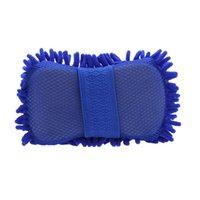 Wholesale 100pcs Microfiber Snow Neil fiber high density car wash mitt car wash gloves towel