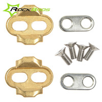 Wholesale ROCKBROS Premium Cleats For Bike Pedals Crankbrothers Eggbeater Candy Smarty Acid Mallet Bicycle Accessories