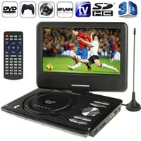 portable dvd - 9 inch TFT LCD Screen Digital Multimedia Portable EVD DVD Support Analog TV PAL NTSC SECAM D Movies Game Function