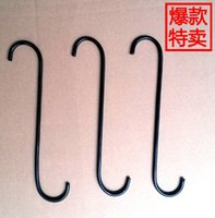 Wholesale Factory direct iron hooks S hook S hook S type clothing hook hook hook special clothing
