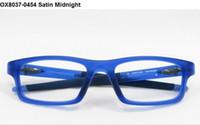 Wholesale New Prescription RX Sports Glasses Eyeglasses Frames CROSSLINK OX8037 Satin Midnight OX8037 OX