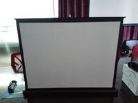 Wholesale 2015 new inch mini projector screen ship by DHL