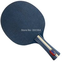 Wholesale High end best quality table tennis racket holder bybrid wood long short handle straight grip professional pingpong racket