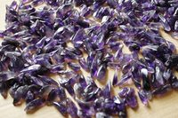 Wholesale 100 Natural of Tiny Clear Amethyst Quartz Crystal Rock Chips g