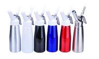 Wholesale Desert Tools White Color Portable ml Aluminum Whipped Cream Dispenser