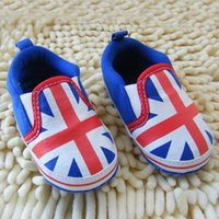 baby cribs uk - Cute M UK Flag Toddler Shoes Soft Sole Crib Baby Shoes Prewalker Sneakers