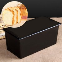 baking pan storage - Hot Rectangle Nonstick Bread Box Container Storage Loaf Pastry Bread Baking Pan Kitchen Bakeware New