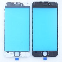 best glass frames - Best quality front Glass with Frame Assembly for iPhone touch panel with Bezel Housing DHL
