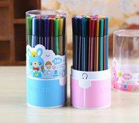 Wholesale Fruit colors in a box of watercolors suit children painting pen