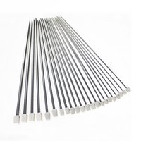 Wholesale US Stock US Ship New Brand Set Stainless Steel Single Pointed Knitting Needles Crochet Tool Sizes quot cm Accessories