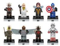 baby ant - Baby toys Super Heroes Avengers Antman Captain ANT MAN Minifigures Building Blocks Brick Mini Figures Toys x0102