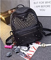 Cheap 2016 Fashion Ladies Cheap Handbags Rivets Zipper Designer Handbag Channel Bags Black New Arrive Hot Sale In Stock Sexy Elegant Sexy Bag