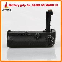 Wholesale BG E11 Vertical Battery Holder Grip Pack for Canon EOS D Mark III Camera
