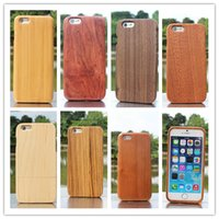 wood wooden case - Bamboo Wood Hard Case Cover Skin for Cell Phone iphone iphone6 i6 Plus inch Hotselling New Super Quality i6 Wooden Case