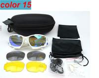 achat en gros de meilleures lunettes de cyclisme-Meilleure qualité . Bicyclette Lunettes de cyclisme Lunettes de soleil de sport UV400 3 Lens Sporting lunettes de soleil Lunettes de soleil Oculos De Sol