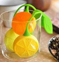best filter bags - 2015 newest best price Silicone Teabag Tea Strainer Infuser Teapot Teacup Filter Bag Lemon Style Hot Sales