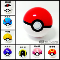 anime action figure - 6Pcs Ball Figures ABS Anime Action Figures PokeBall Toys Super Master Ball Toys Pokeball Juguetes CM TOY149