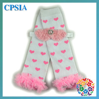 Wholesale 2015 Limited Floral Cotton Calentadores Outside The Single Hot Supply Monochrome Heart shaped Skirts Girls In Tube Socks