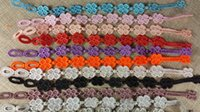 american flag designs - Newest Design Fashion Mix Colors Italy Lace Bracelet Bangle Handcraft Weave Bracelet Cruciani bracelets Clover Love Bracelet Hot Jewelry