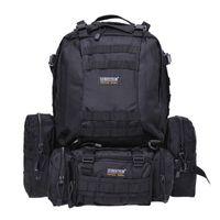 Wholesale Seibertron Outdoor Travel Bag Tactical Backpack L Black And Brown Combination Backpack Nylon Fabric Solid Color Adjustable Shoulder