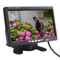 Wholesale Hot Inch TFT LCD Color Display Screen Car Camera Car Rear View Camera with Monitor LED Night Vision Reversing Reverse Camera
