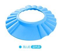 Wholesale New Shampoo Shower Bathing Protect Soft Cap Hat for Baby Children Kid Bath Safe Blue