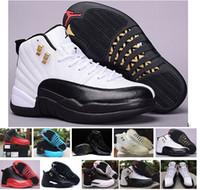 Wholesale Nike Air Jordan Retro Basketball Shoes Men Cheap Jordans XII Boots Original Sneakers AJ12 High Cut Men s Sport Shoes