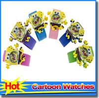 cheap children watches - Cute Cartoon Children Kids Watches Spiderman Minions Bear Mickey Mouse children Slap Watch Cheap Watches Christmas Gift