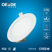 bathroom fixtures sale - Hot sale Square Round W W W W W W Dimmable LED Ultrathin Panel Lights Downlights Angle Fixture Recessed Ceiling Dow CSA SAA