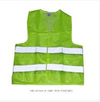 Wholesale Reflective Safety Vest Yellow for Construction Traffic Warehouse