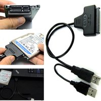 Wholesale SATA Pin Pin to USB Adapter Cable For HDD Laptop Hard Disk Drive VC598 W0 SYSR
