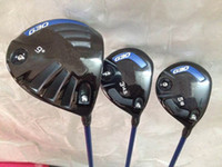 Wholesale golf clubs New G30 driver G30 fairway woods right hand set G30 golf woods come headcover