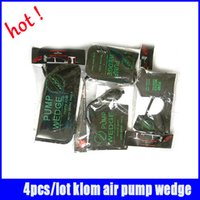 car door open tools - Klom black Small Middle Big U size auto airbag air wedge set locksmith tools kit car open lock door
